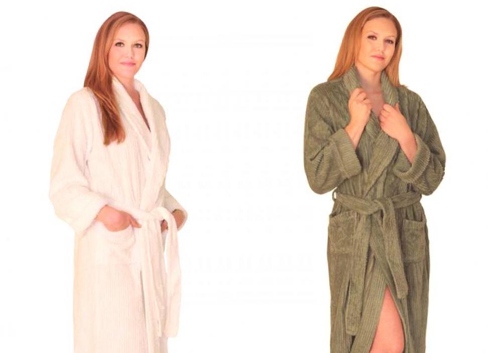 Как выбрать халат. Махровый халат