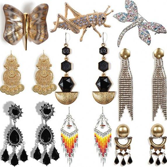 Модные украшения 2012