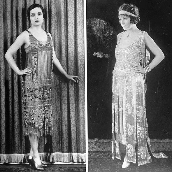 История моды. Мода 20-х годов