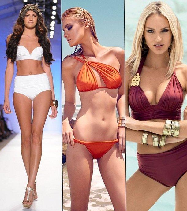 Модные тенденции купальников для лета 2013