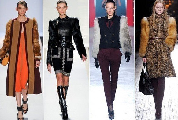 Модные тенденции осень 2012 с Нью-Йоркской недели моды