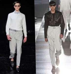 Мужские брюки со стрелками