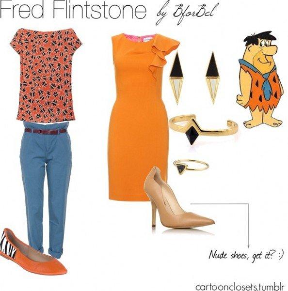 Одежда в стиле героев популярных мультфильмов