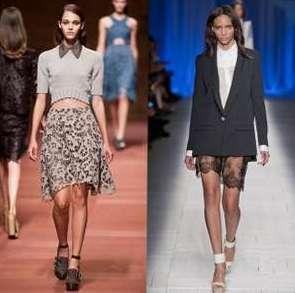 Романтические кружева - модный тренд весны