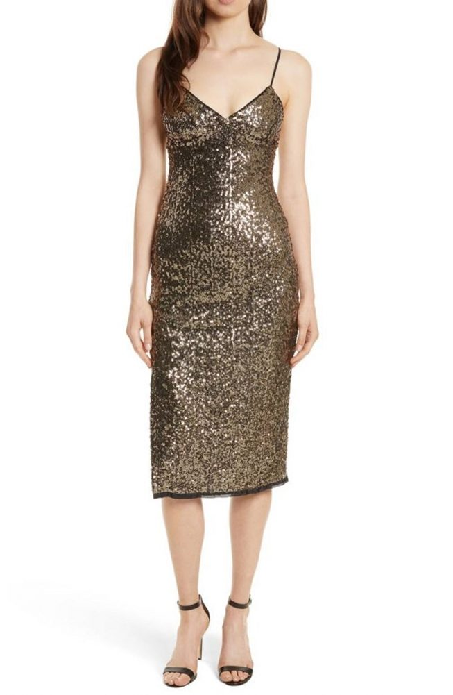 8 классных блестящих платьев для новогодней ночи — подборка 4