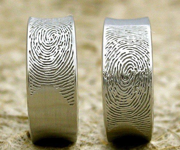 Чем заменить обычные обручальные кольца 4