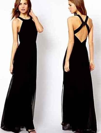 Платье с открытой спиной 13