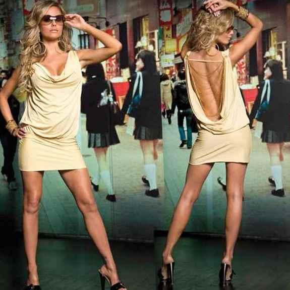 Платье с открытой спиной 17