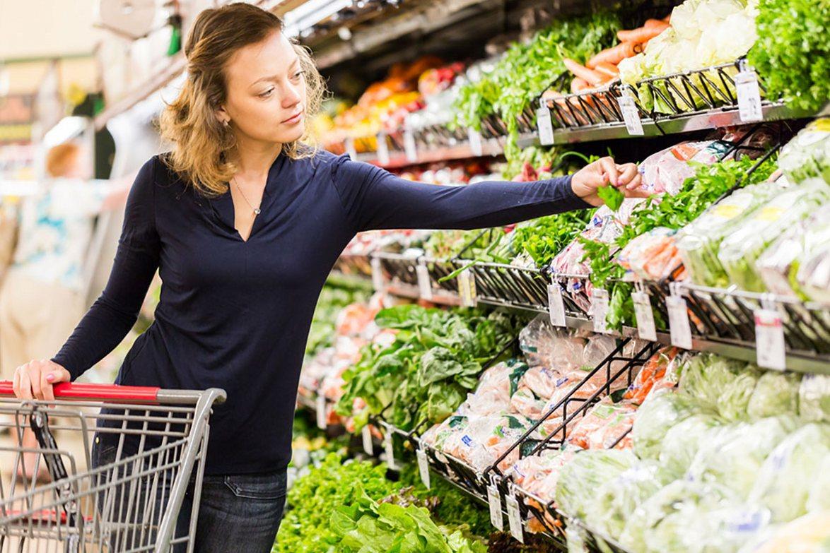 Покупка продуктов в супермаркете 1