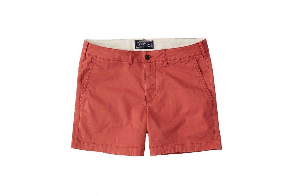 Простые шорты Abercrombie & Fitch