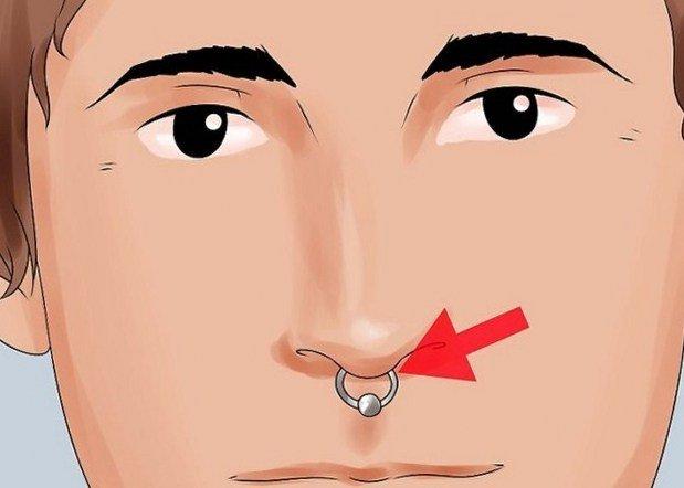 Виды пирсинга Пирсинг носовой перегородки