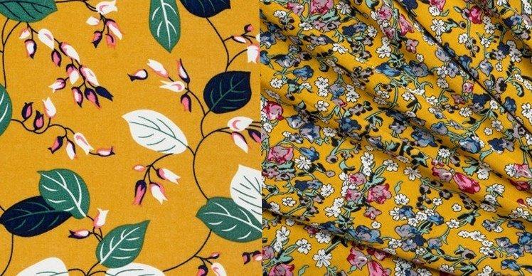 Цветочные принты и цветочные мотивы