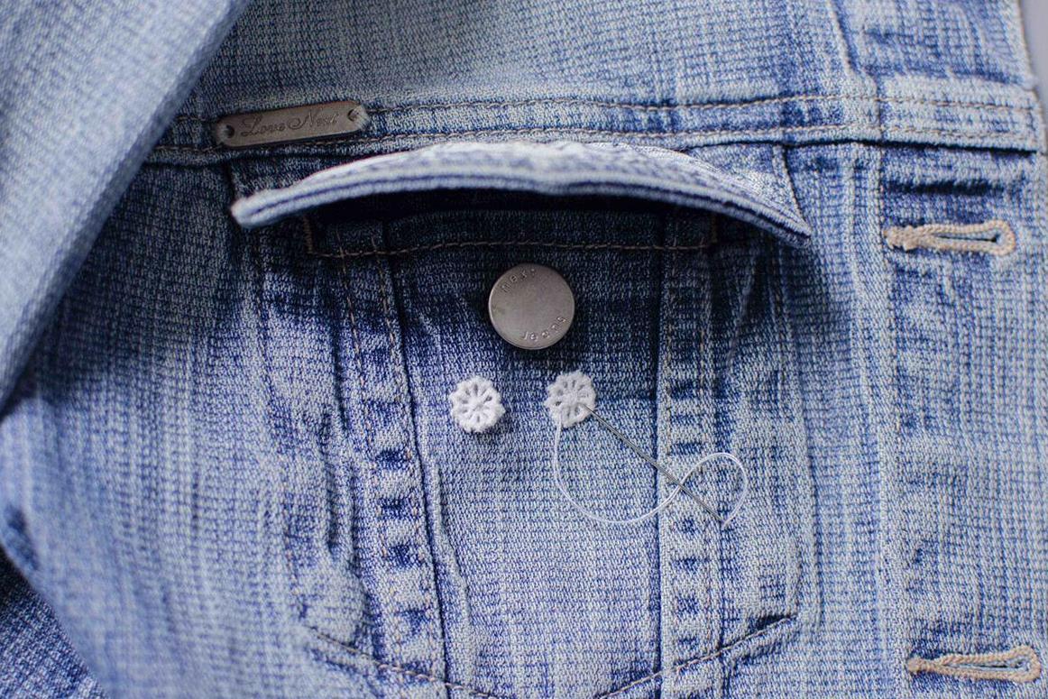 Джинсовая куртка. Вторая жизнь