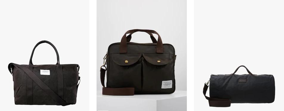 Брендовые мужские сумки Barbour