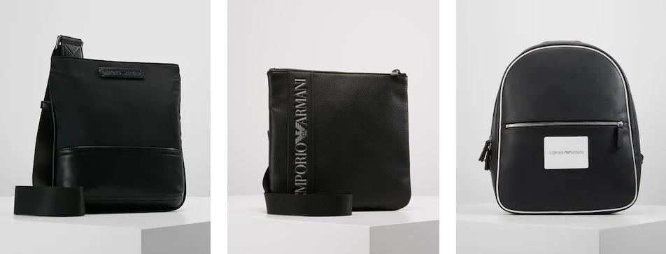 Брендовые мужские сумки Emporio Armani