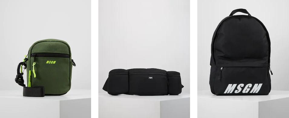 Брендовые мужские сумки MSGM