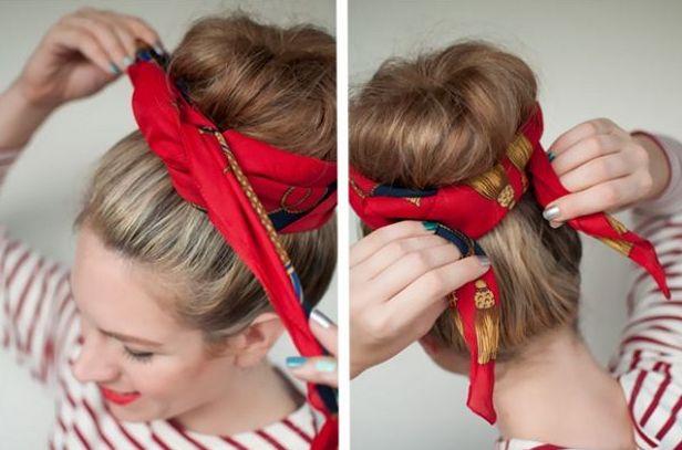 Аксессуары для волос своими руками