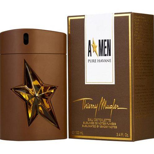 Лучшие мужские ароматы. Mugler AMen Pure Havane EDT