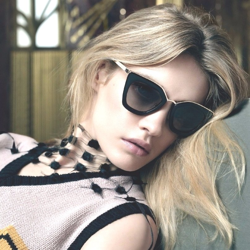 Модные очки. Оттенки авангарда
