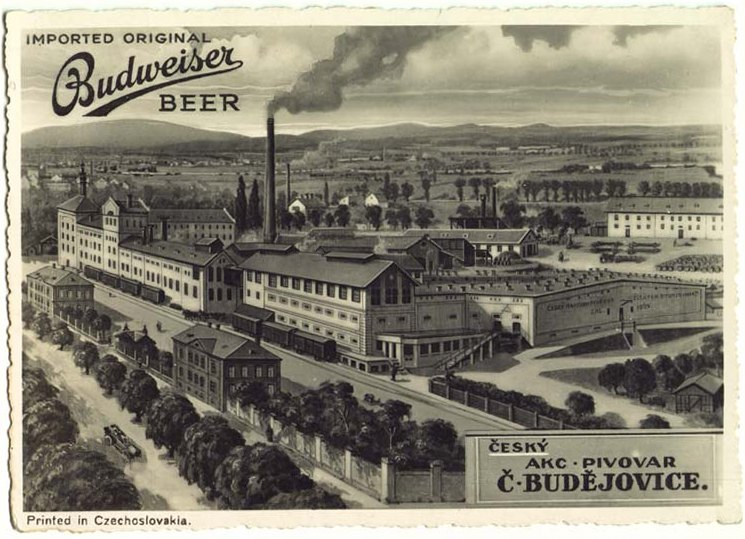 Чешское пиво. Budweiser Budvar