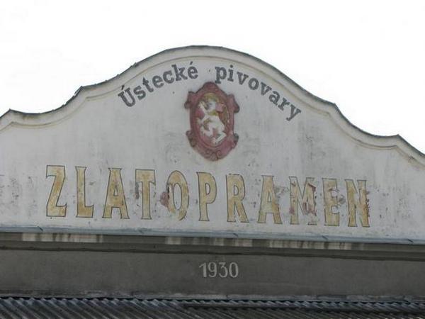Чешское пиво. Zlatopramen