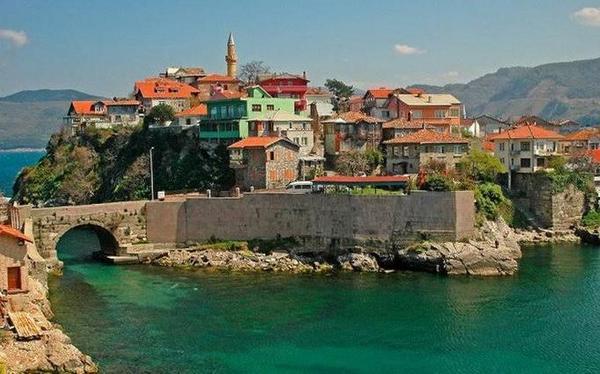 Лучшие курорты Турции. Амасра