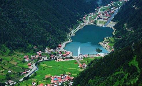 Лучшие курорты Турции. Озеро Узунгёль
