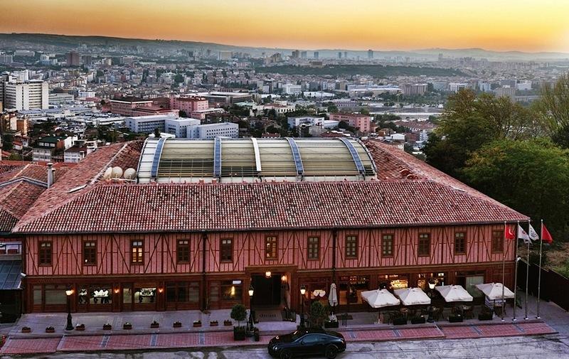 Лучшие отели Турции. Divan Cukurhan Ankara