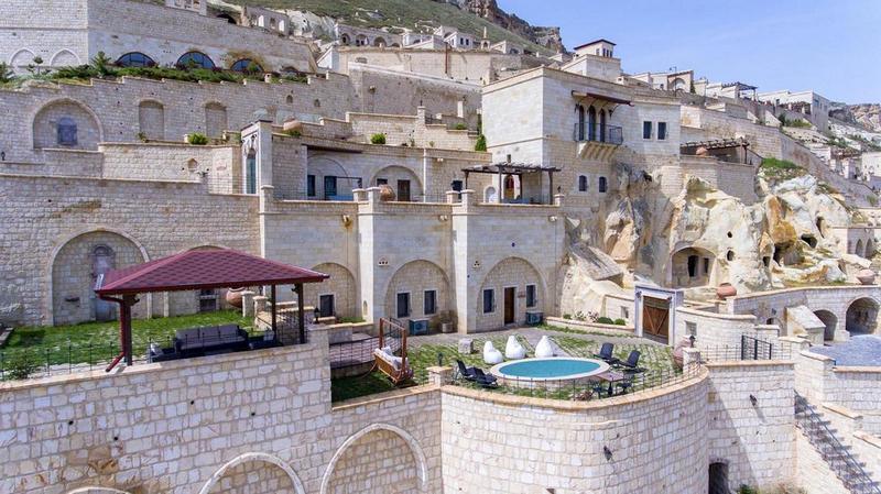 Лучшие отели Турции. Kayakapi Premium Caves Cappadocia, Ürgüp