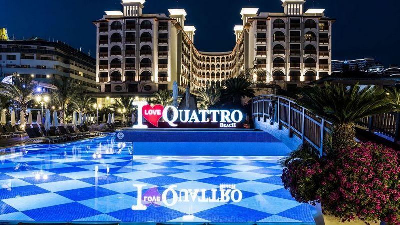 Лучшие отели Турции. Quattro Beach Spa & Resort Konakli