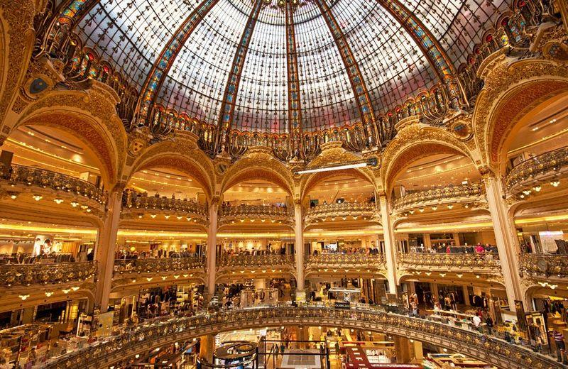 Торговые центры мира. Галерея Лафайет, Париж