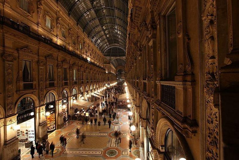 Торговые центры мира. Галерея Виктора Эммануила II, Милан