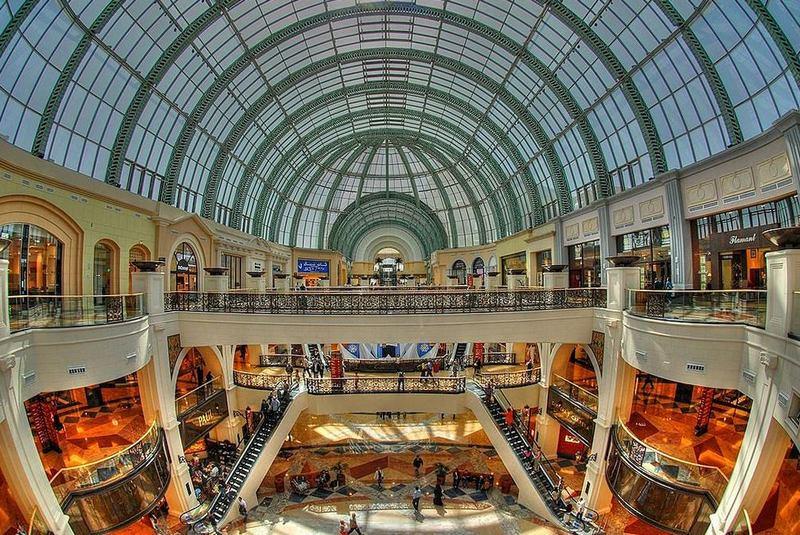 Торговые центры мира. Молл Эмиратов, Дубай