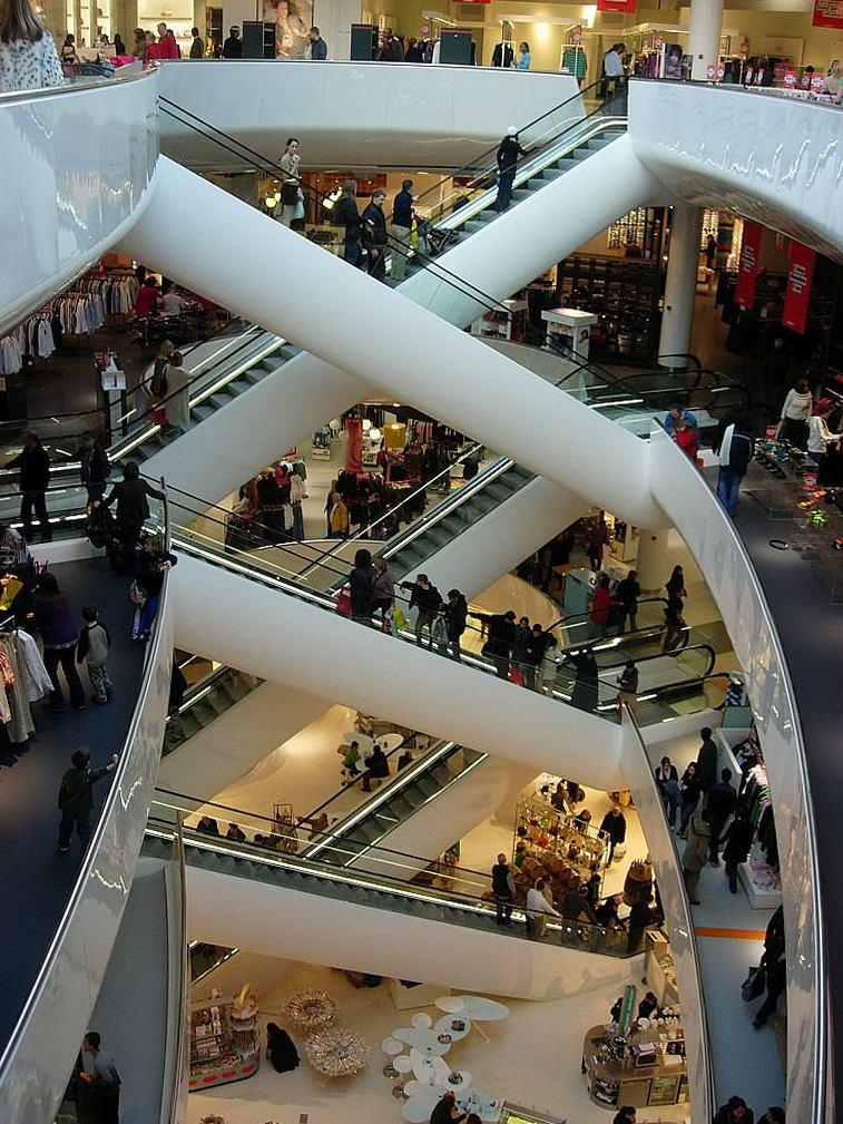 Торговые центры мира. Селфридж, Бирмингем