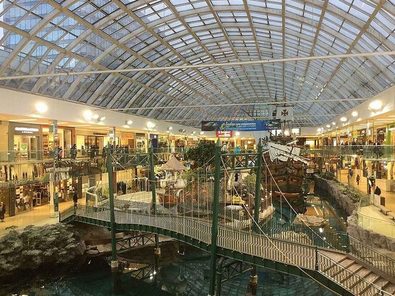 Торговые центры мира. Вест Эдмонтон Молл