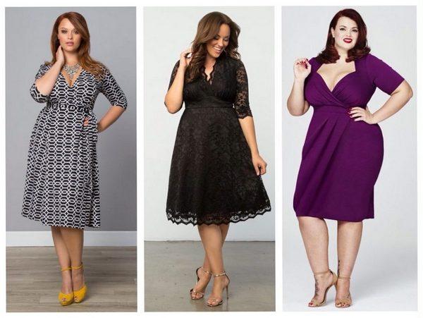 Как выбрать одежду для полных