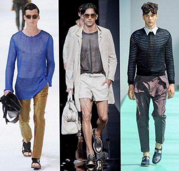 Модныемужскиетрендывесенне летнегосезона