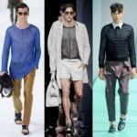 Модные мужские тренды весенне-летнего сезона 2013 — прозрачные ткани и прозрачный трикотаж