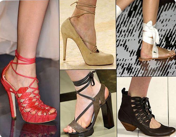 Модная летняя обувь 2010