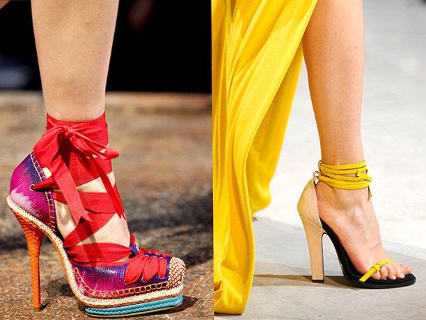 Модная обувь весна-лето