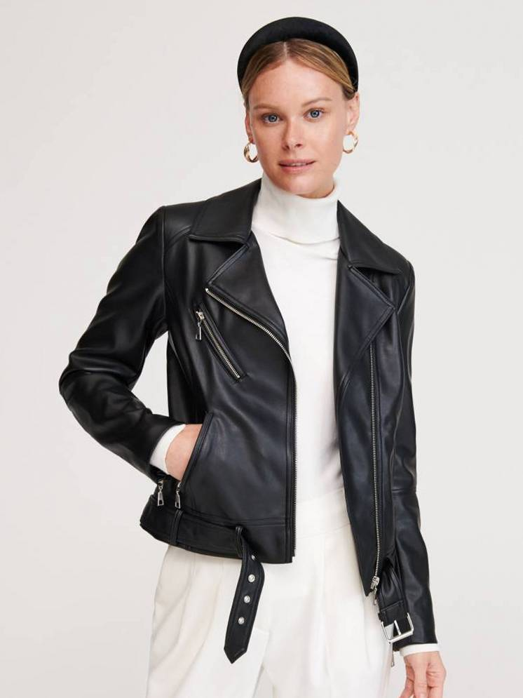 Модные кожаные куртки