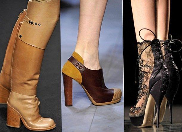 Модная обувь осень 2010
