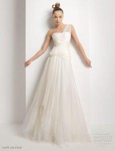 Модные свадебные платья 2011 12