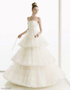 Модные свадебные платья 2011 7