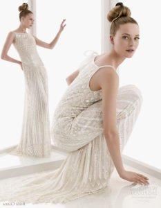 Модные свадебные платья 2011 3