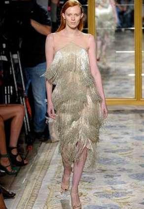 Модный тренд весны - цвет золотистый металлик
