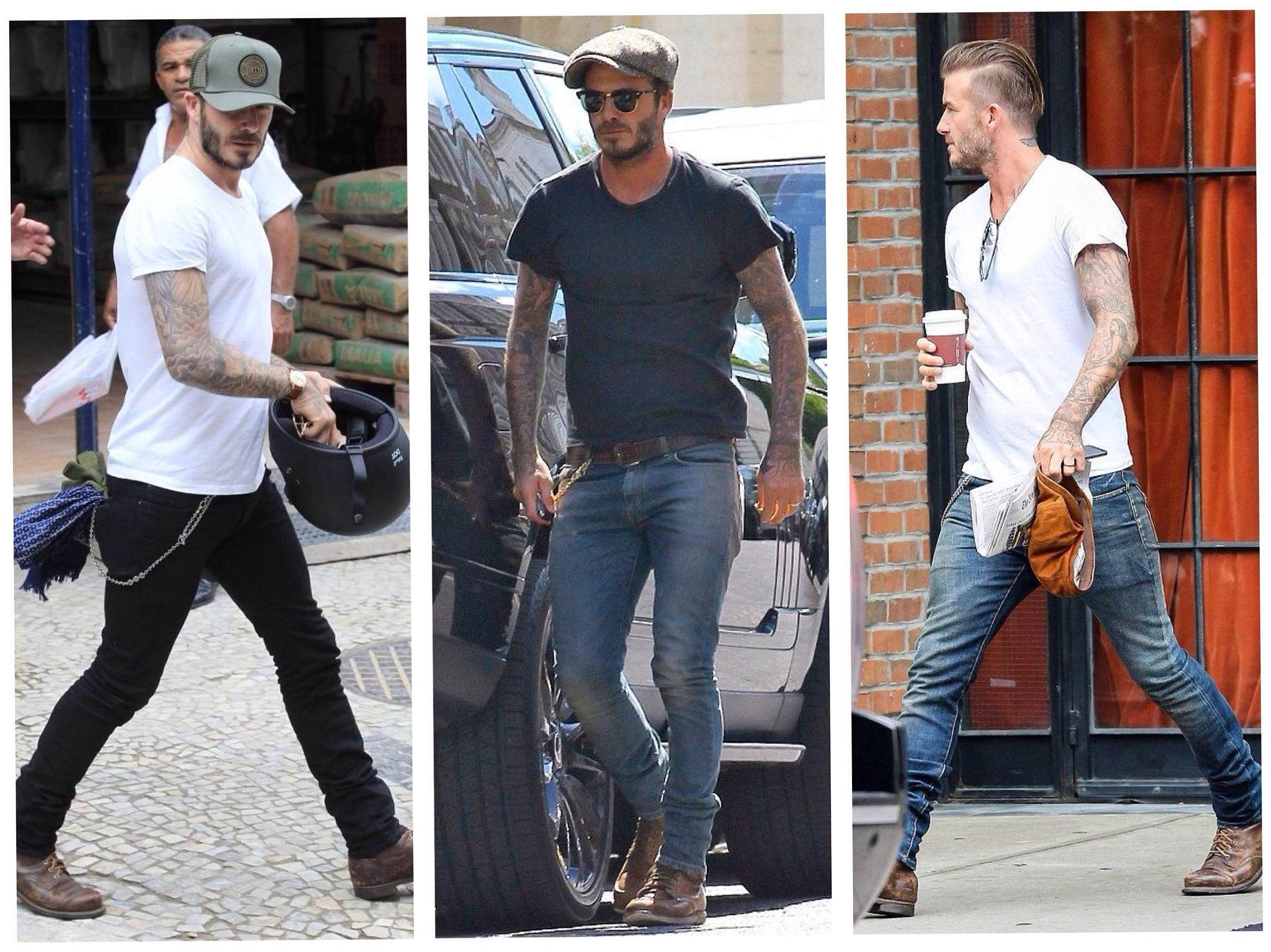 Мужские джинсы скинни