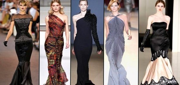 Новогодние платья 2012