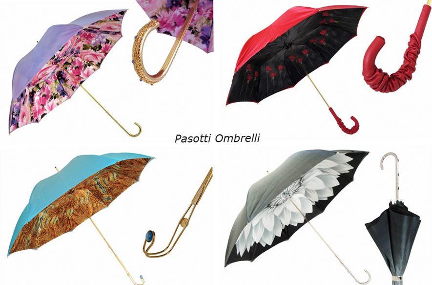 Обязательные атрибуты осени - зонты