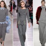 Оттенки серого — модный тренд весны 2013